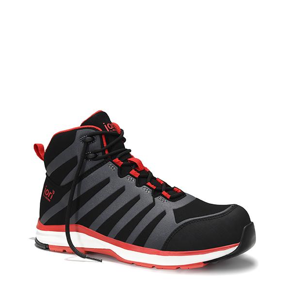 16021 - jo_RAPID black-red Mid ESD S3